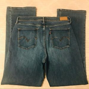 Levi's 512 Perfectly Slimming Bootcut Jeans 14 32